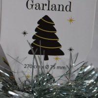Kerstboom slinger groen