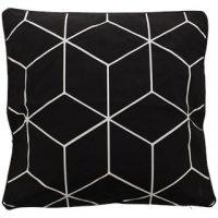 Kussenhoes geometrische print 45/45